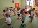 Ćwiczenia gimnastyczne w grupie