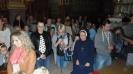 Wspólne odmawianie różańca - grupa Misie oraz Słowiczki