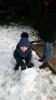 Zabawy na śniegu -
