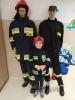 Odważni strażacy